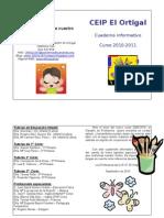 Cuadernillo informativo curso 2010-2011