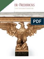 Apter Fredericks ENGLISH FURNITURE brochure 2013