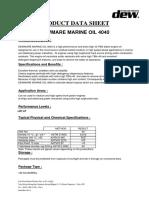 Dewmare Marine Oil 4040