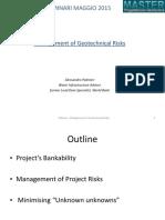 1_04 - Management of Geotechnical Risks
