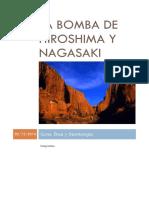 La Bomba de Hiroshima y Nagasaki