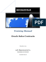 Training Manual Oracle Sales Contracts