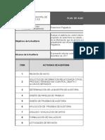 6. Plan de Auditoria