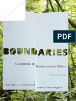 Boundaries a Casebook in Environmental Ethics