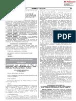 Ordenanza que aprueba el Plan de Desarrollo Local Concertado (PDCL) 2018 - 2028 del Distrito de Chilca - Cañete
