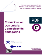 1-Comunicación Popular y Participación Protagónica (Modulo 17)