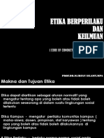 ETIKA ETIKA-BERPERILAKU