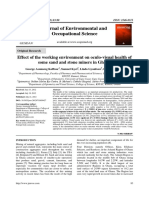 Journal of Environmental and Occupational Science