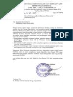 Surat Edaran Pelaksanaan Survei