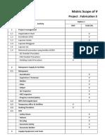 Copy of Matrik SOW Fabrikasi Steel Box Option 1 Dan 2 Reviewed