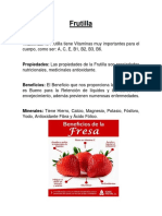 Frutilla