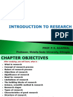 Introduction to Research.
