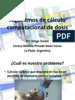 Algoritmos de Calculo Computacional de Dosis