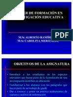 investigación y observación educativa