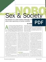 Bonobo Sex and Behavor