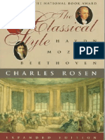 (Charles Rosen) the Classical Style