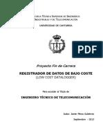 Registrador de Datos de Bajo Coste