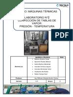 Laboratorio 2 Máquinas Térmicas