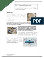 Module III MagneticProperties Notes-final