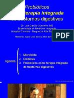 Probióticos como terapia integrada de trastornos digestivos