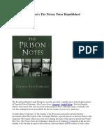 Lucian Tudor - Corneliu Codreanu's 'Prison Notes' - 2015