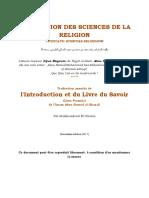 l'Introduction Et Du Livre Du Savoir