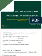 Curs 3 -APSS_RO_2017_2018 - Identificarea Riscurilor - Cauzalitatea(1)