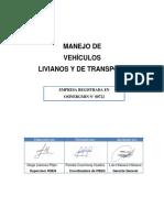 Hse-pr-001-Av - Vehiculos Livianos y de Transporte