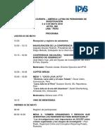 """Programa """"Encuentro Europa-Latinoamérica de Periodismo de Investigación"""""""