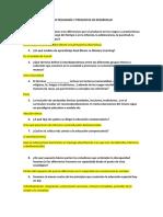 AUTOS PARA ESTUDIAR DE PEDAGOGÍA Y PREGUNTAS DE DESARROLLO