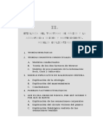 2.Etiología Del Trastorno de Pánico y La Agorafobia Origen y Mantenimiento. Modelos Explicativos