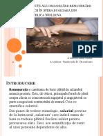 Aspecte Ale Organizării Remunerării Muncii În Sfera Bugetară