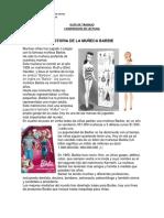 Guia 10 Comprension de Lectura Historia de La Muneca Barbie