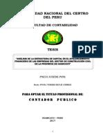 Análisis de La Estructura de Capital en El Apalancamiento Financiero de Las Empresas Del Sector d