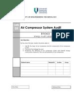 LAB 3 Air Compressor System Audit