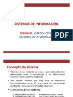 SI Sesion01 Sistema de Informacion