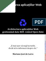 web07ArhitecturaAplicatiilorRDF-LinkedData