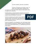 Blog sobre gastronomía oriental y peruana