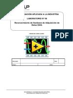 Lab 6. Reconocimiento de Hardware de Adquisición de Datos DAQ