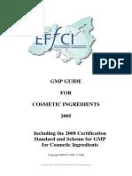 Effci Gmp Guide - 2008