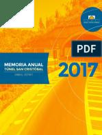 Variante Vespucio El Salto - Kennedy (Túnel San Cristóbal) - EEFF 2017