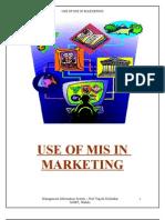 MIS in Marketing
