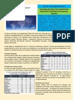 Competitividad Al Da Edicin No. 331- Resultados Del Ndice de Competitividad Global 2017-2018 Del Foro Econmico Mundial