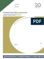Estadistica Del Comercio Internacional 2015