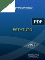 Estatuto e Regimento Da Universidade Federal de Santa Catarina