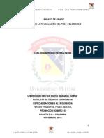 Ensayo de Grado Efectos de La Revaluacion en Colombia