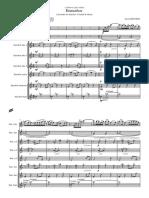 Ensueños (Para Solista y Ensemble de Saxofones) - David Beltrán