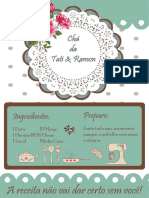 Convite Chá de Panela Tati 2