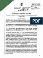 Decreto 581 Del 04 de Abril de 2017