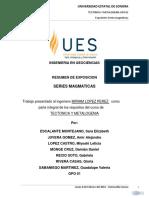 Series Magmaticas Universidad de Sonora
